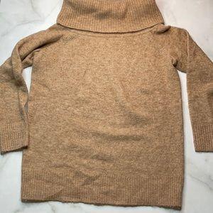 Aritzia Wilfred Free Alpaca Cowl Neck Sweater